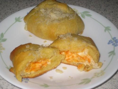 Buffalo Chicken Crescent Puffs