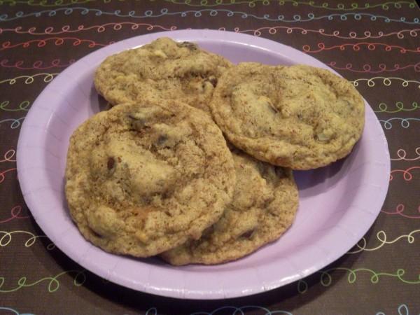 Walnut-Chocolate Chip Cookies