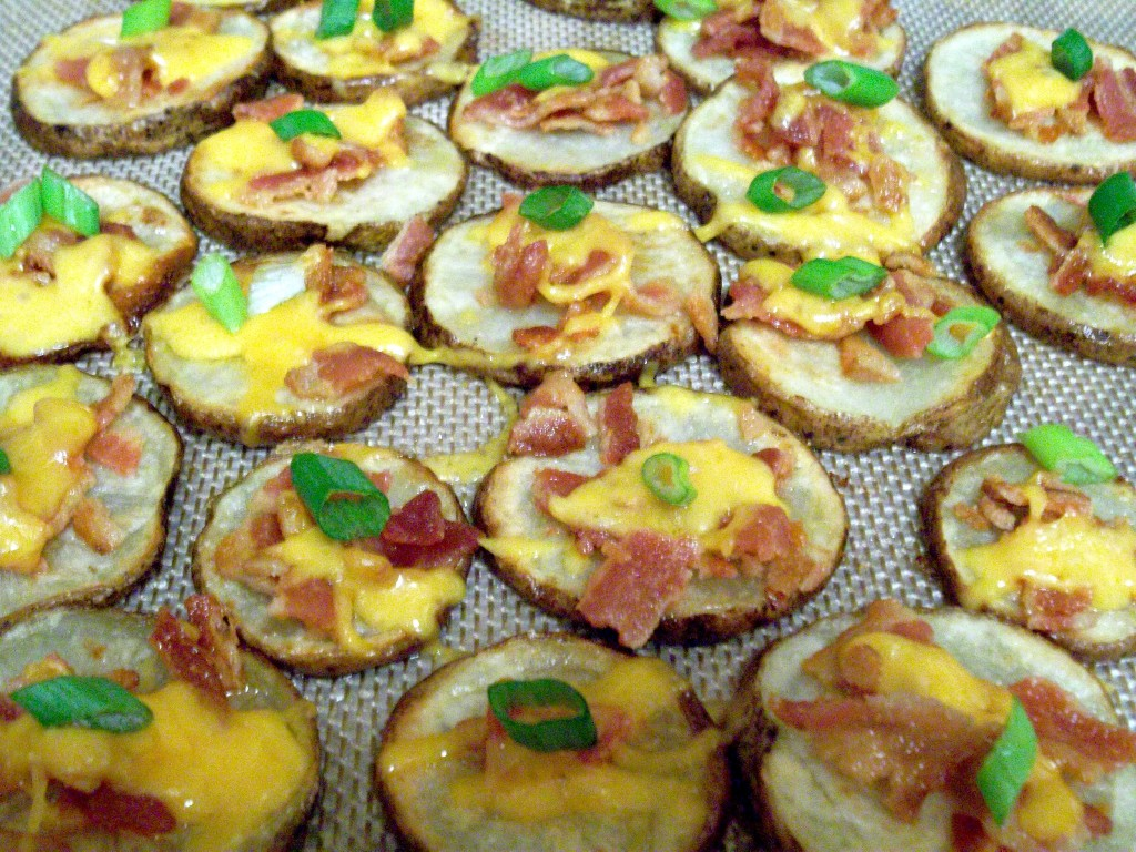 Cheesy Bacon Potato Rounds