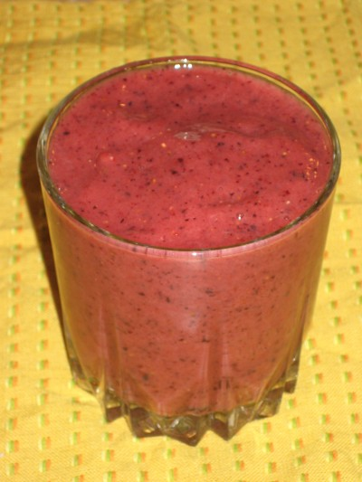 Strawberry-Orange-Blueberry Smoothie