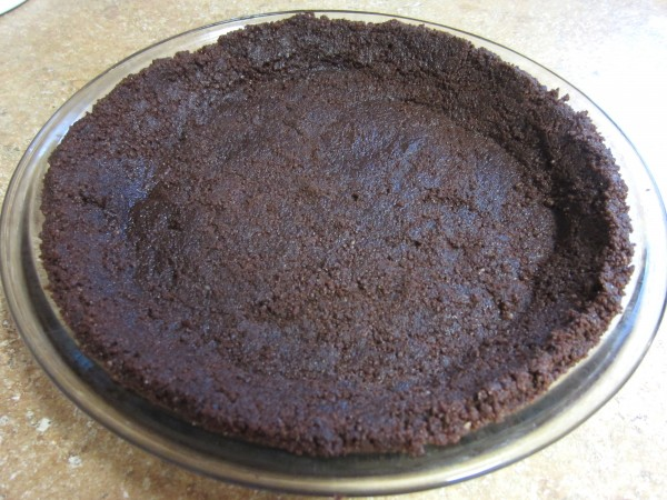 Homemade Chocolate Cookie Pie Crust