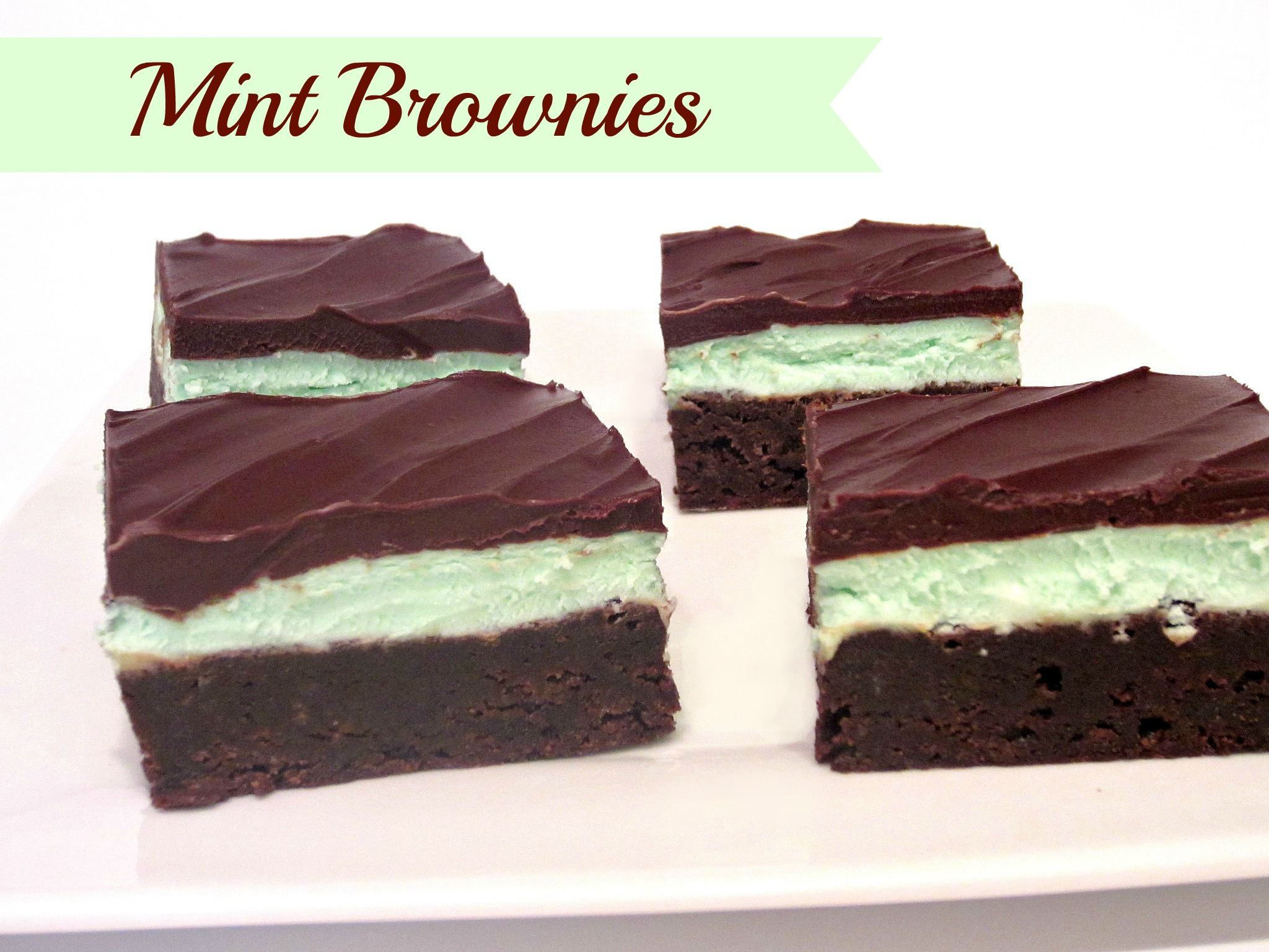mint brownies the best love to be in the kitchen