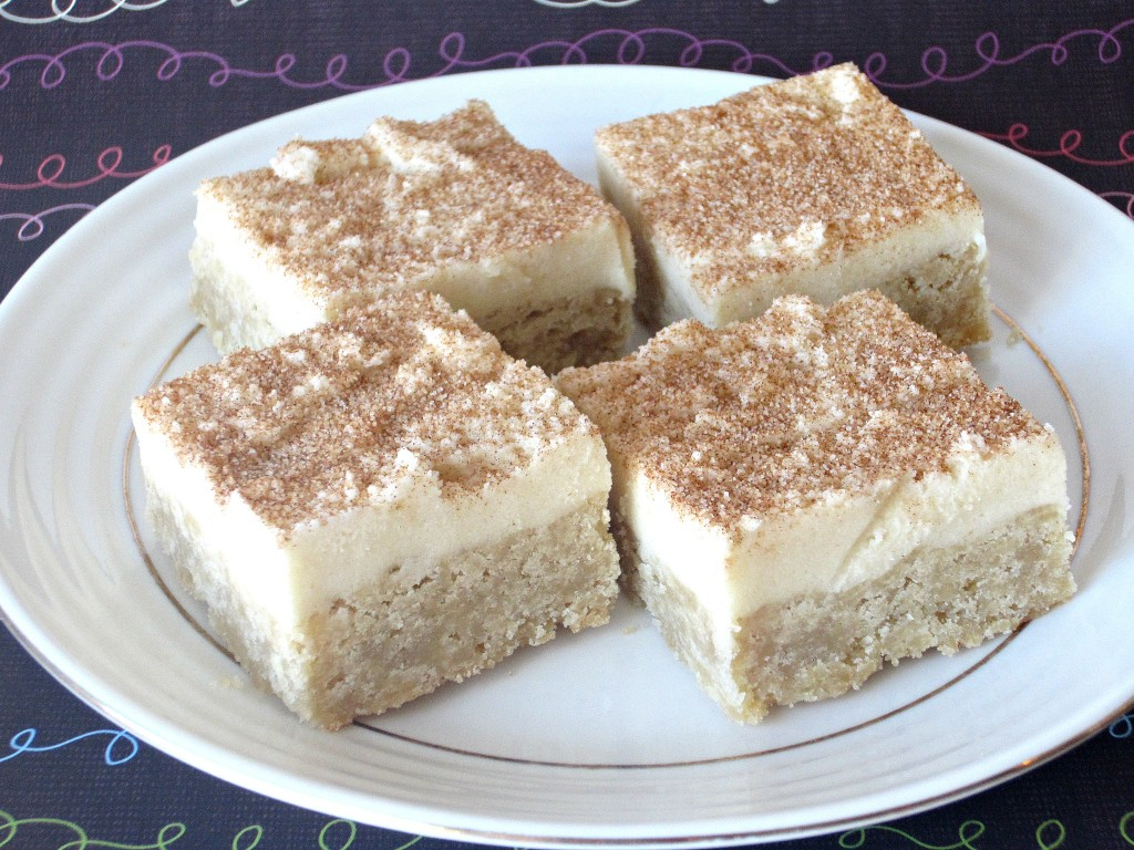 Snickerdoodle Cookie Dough Bars (5)
