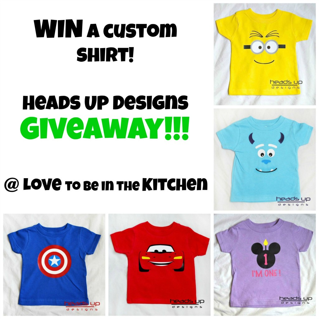 Heads Up Design Giveaway!