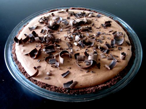 Lighter Chocolate Pie