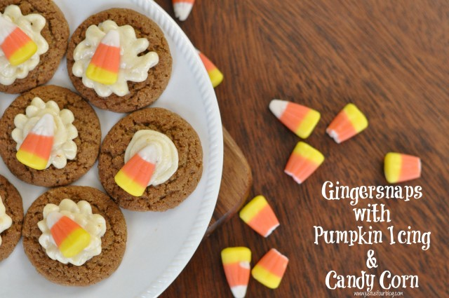 Pumpkin Ice Ginger Snaps