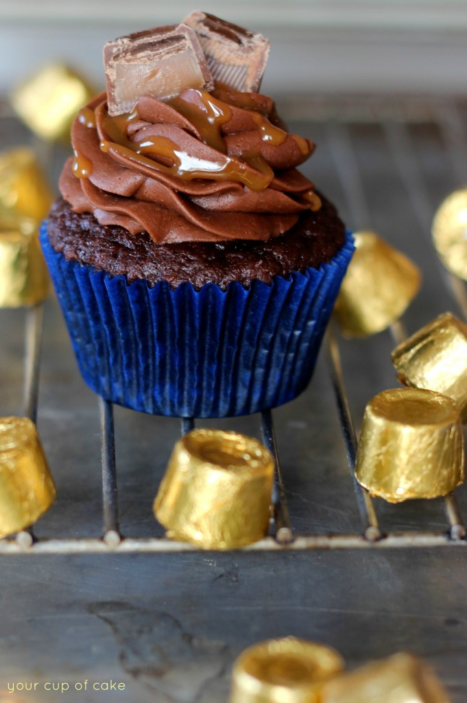 Rolo-Cupcakes