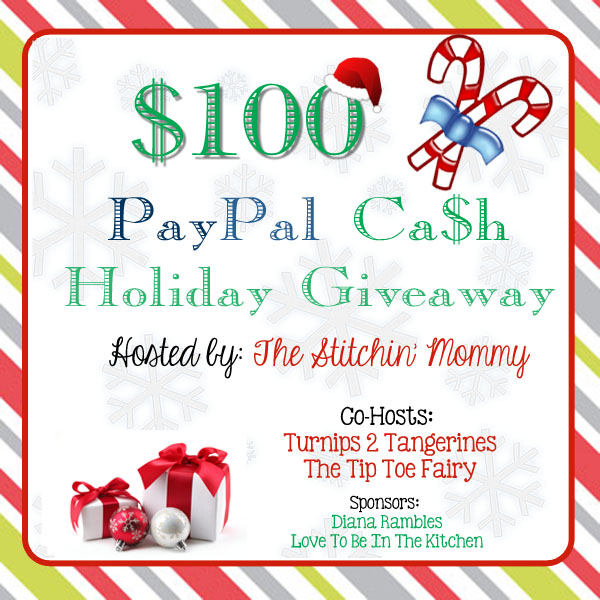 Pay Pal Cash Giveaway