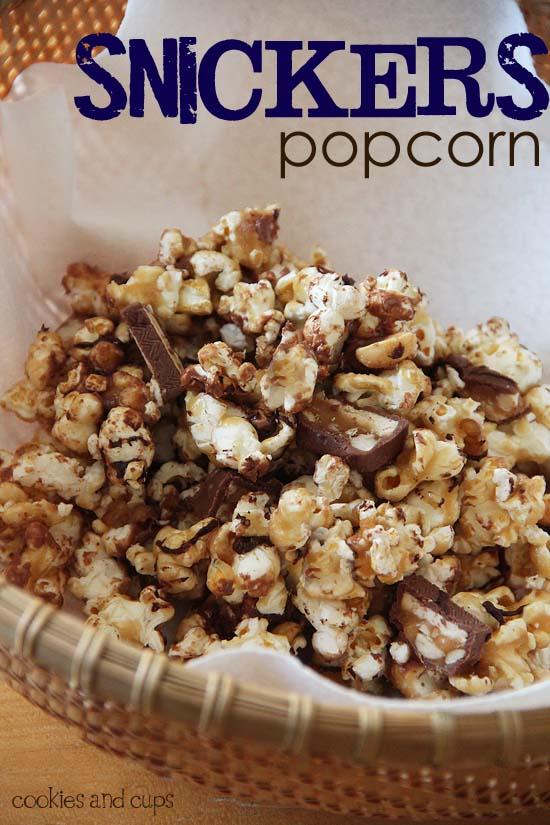 snickerspopcorn