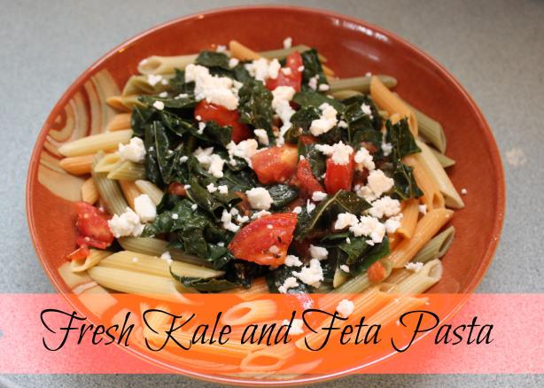 Fresh Kale & Feta Pasta