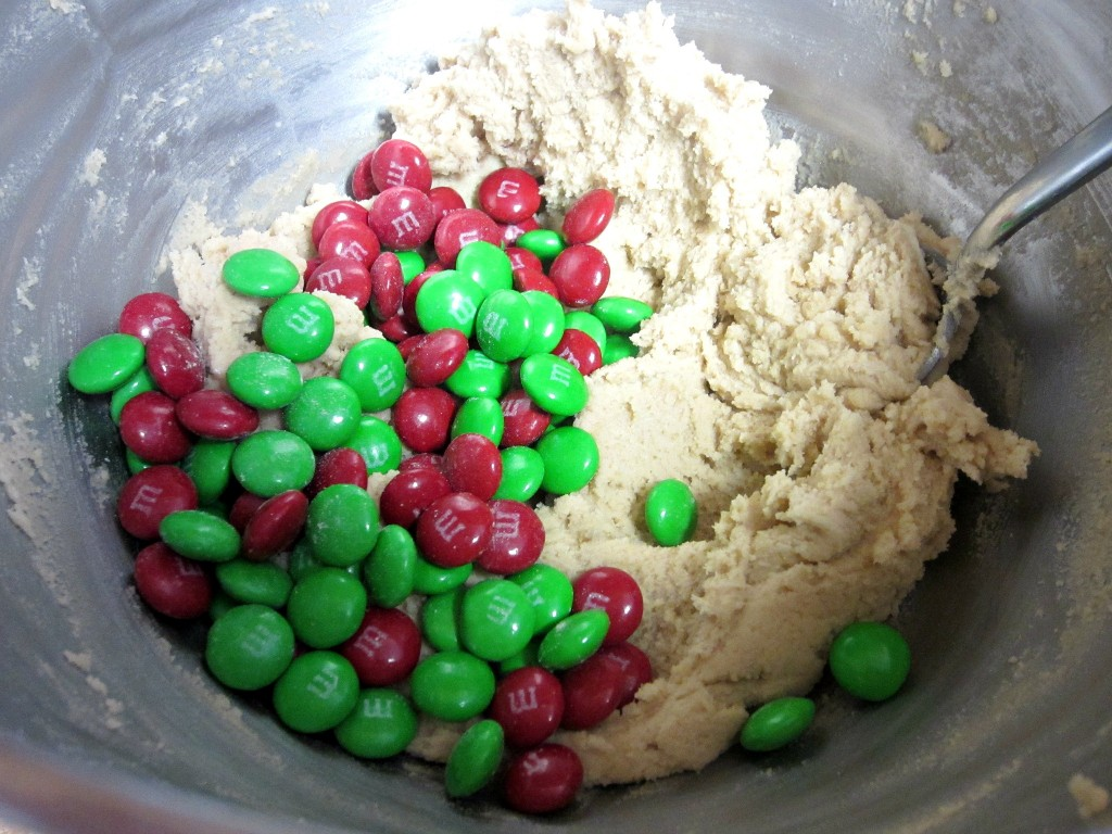 Christmas Cookie Dough Bites
