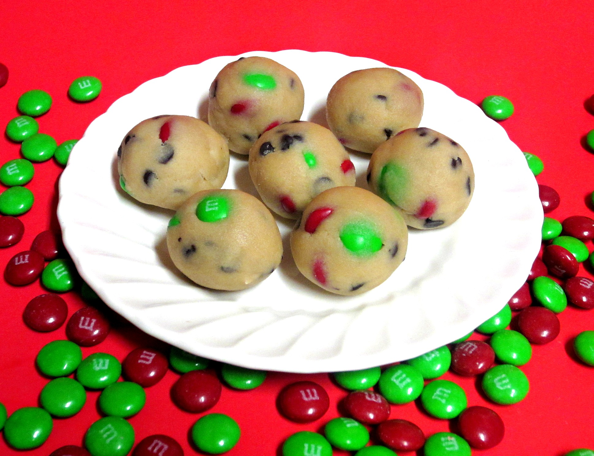 Christmas Cookie Dough Bites Love To Be In The Kitchen