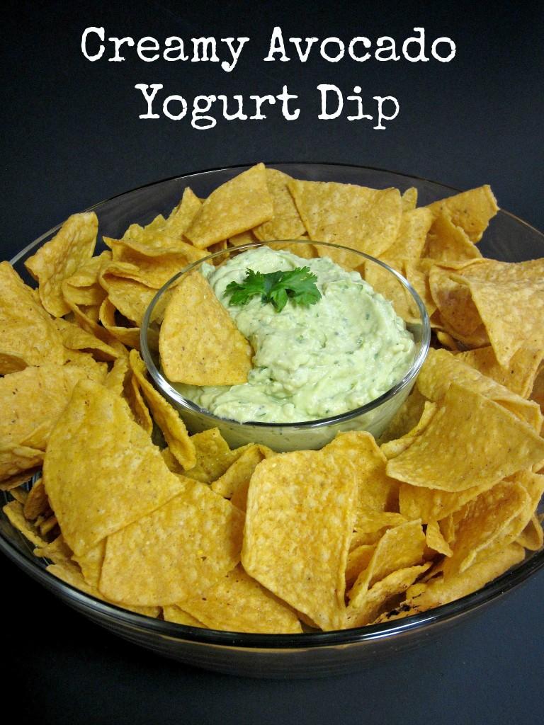 Creamy Avocado Yogurt Dip