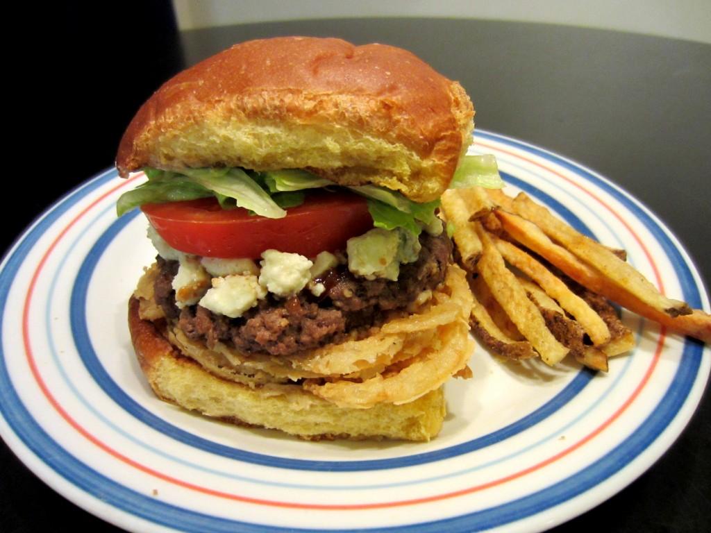 Red Robin Bleu Ribbon Burger