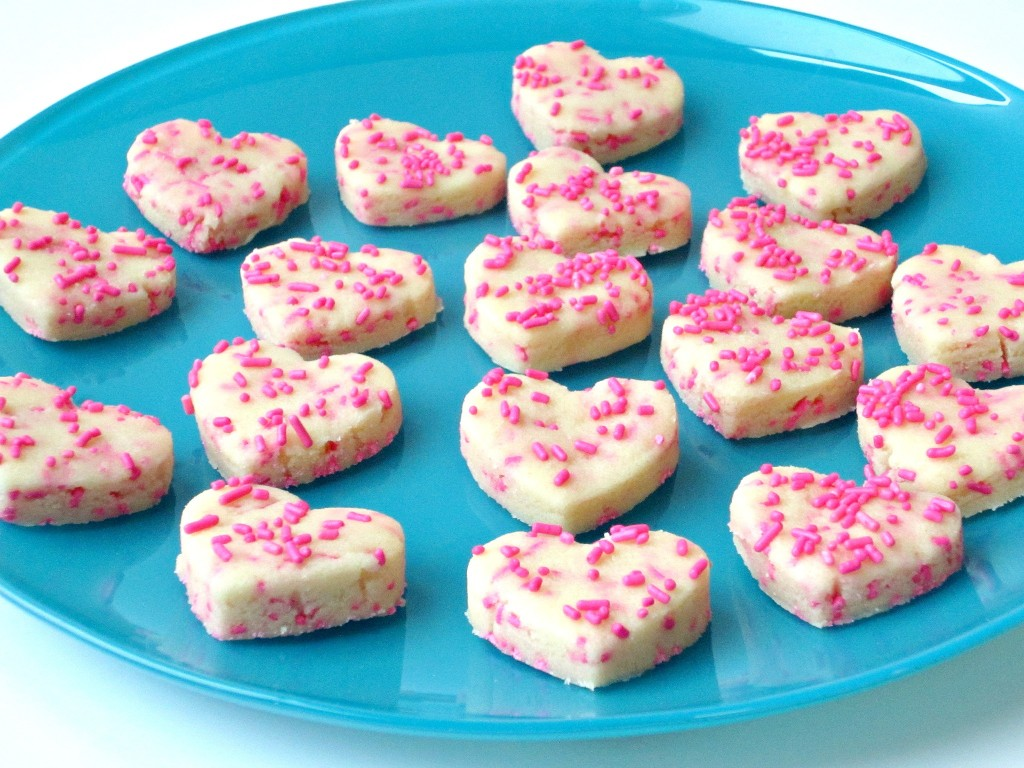 Sugar Cookie Dough Hearts