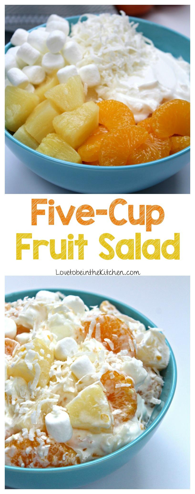 Five-Cup Fruit Salad