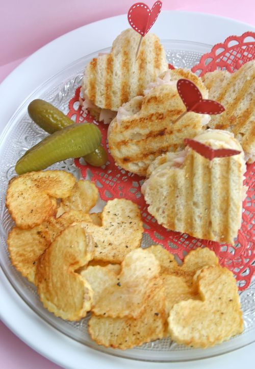 Heart Shaped Sandwich