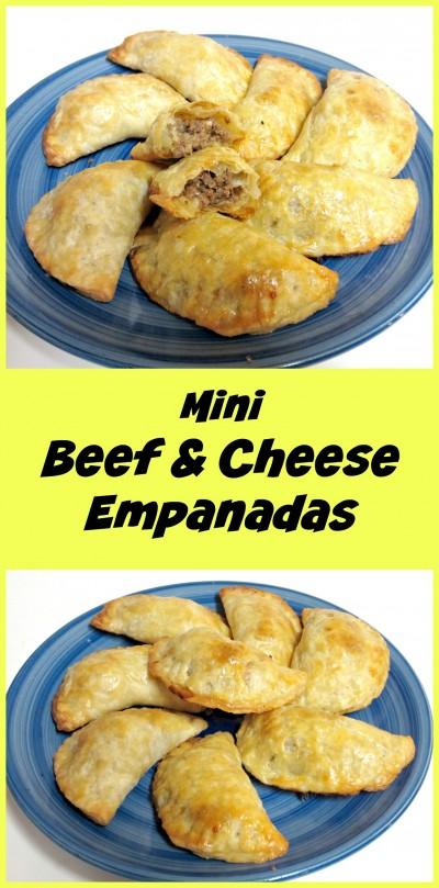Mini Beef & Cheese Empanadas