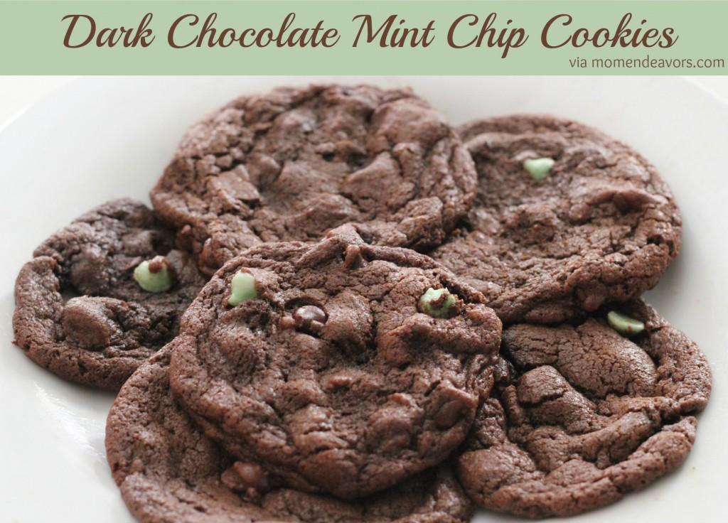 Dark-Chocolate-Mint-Chip-Cookies