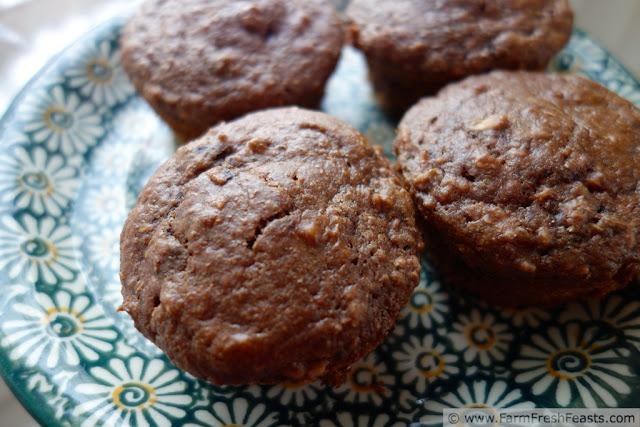 Double Chocolate Raspberry Muffins