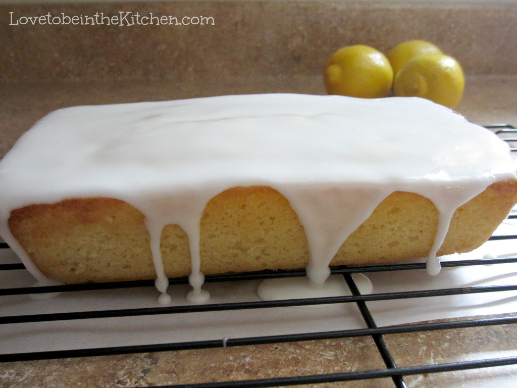 Italian Lemon & Olive Oil Pound Cake