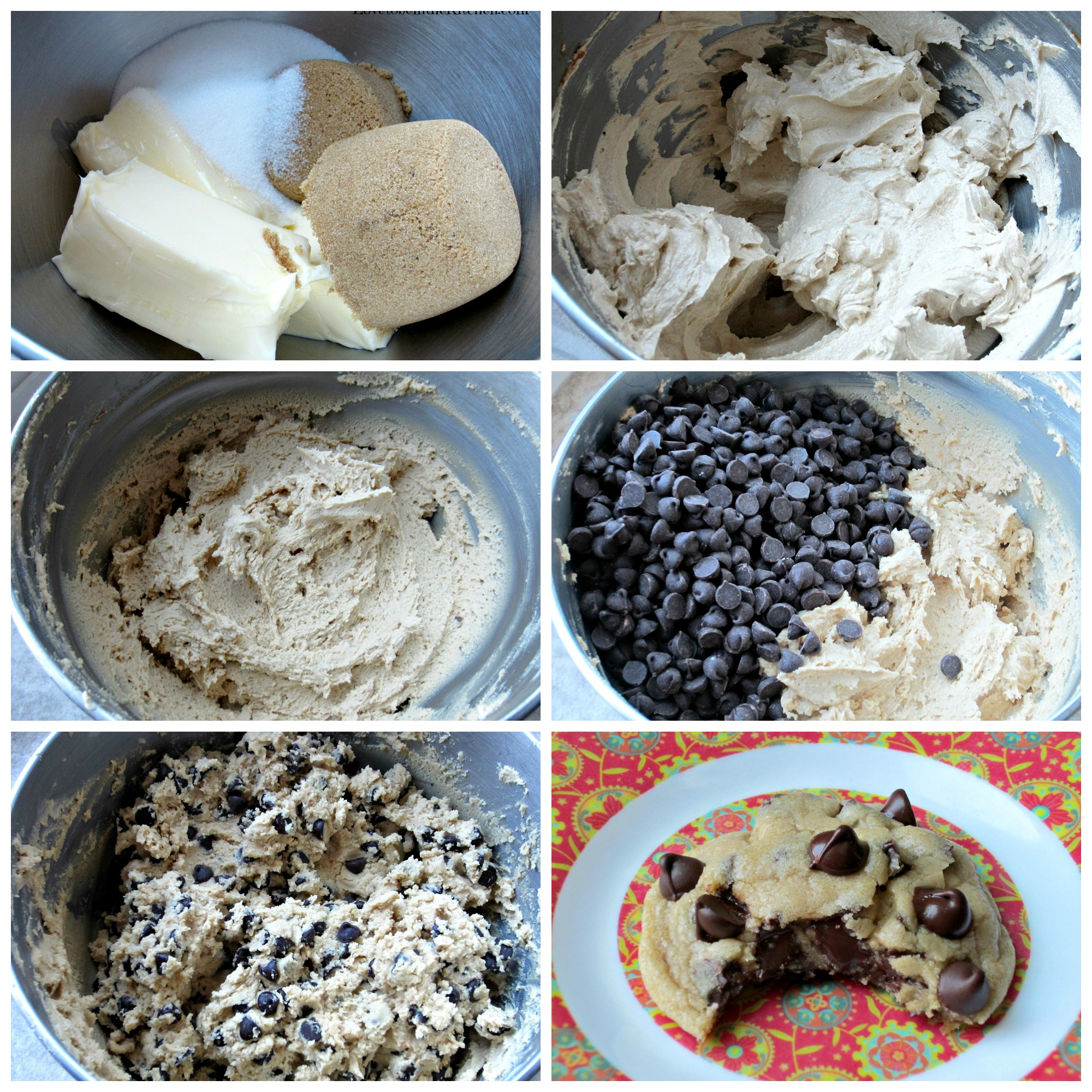 Perfect Chocolate Chip Cookies Love To Be In The Kitchen