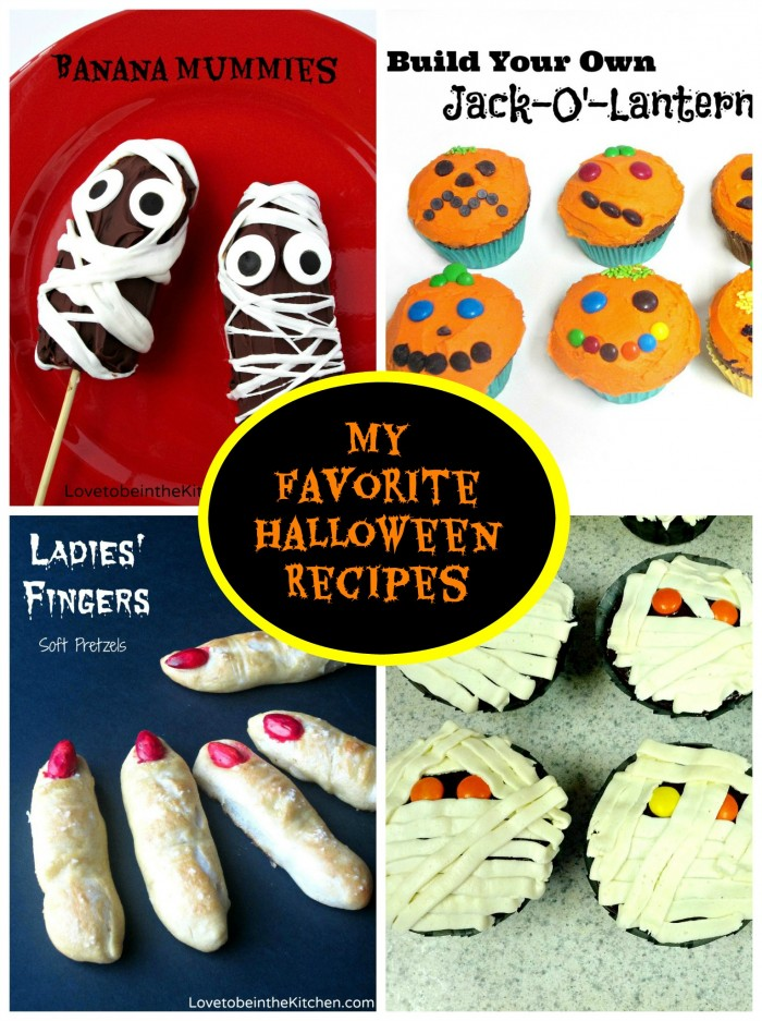 My Favorite Halloween Recipes