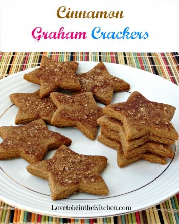Cinnamon Graham Crackers