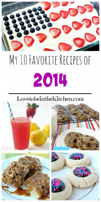 My 10 Favorite Recipes of 2014