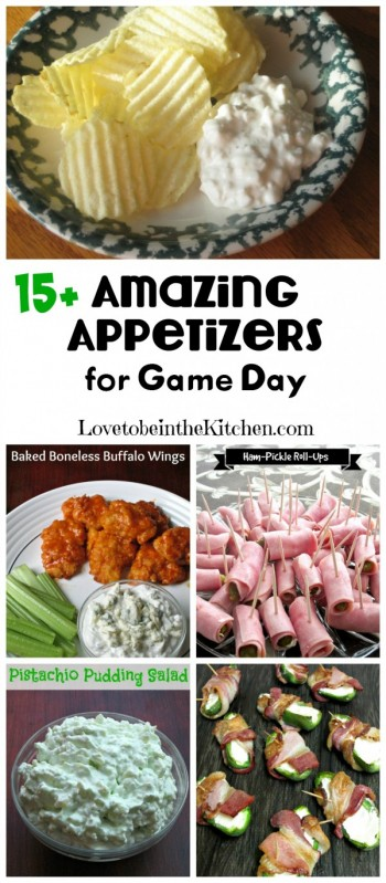 15+ Amazing Appetizers for Game Day