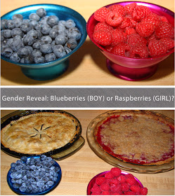 Gender Reveal Pies