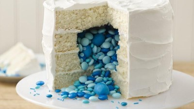 Surprise Gender Reveal Cake