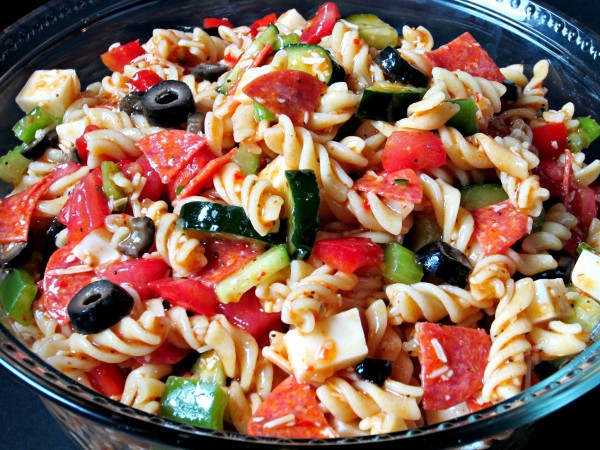 Supreme Pasta Salad Love To Be In The Kitchen