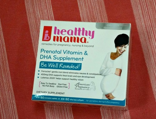 Prenatal Vitamin & DHA Supplement by healthy mama®
