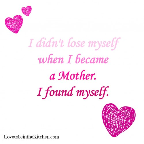 Quote on being a mother