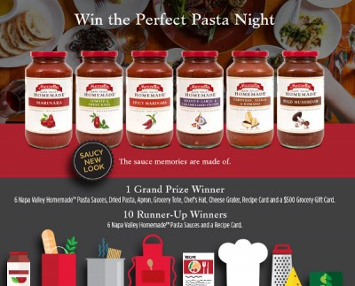 Win the Perfect Pasta Night
