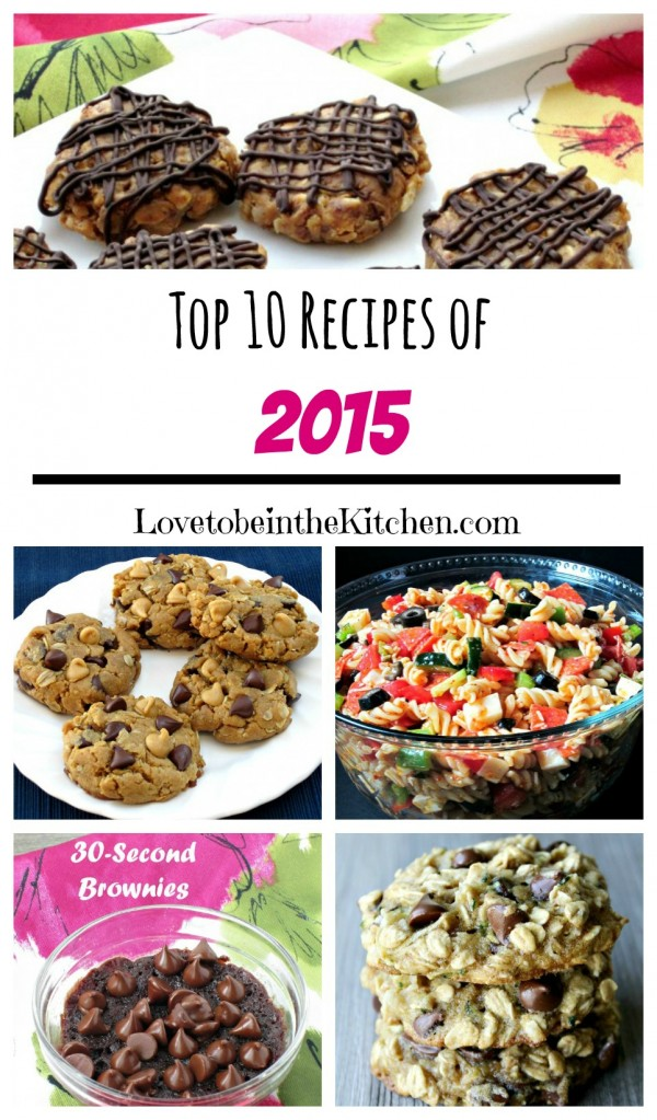 Top 10 Recipes of 2015