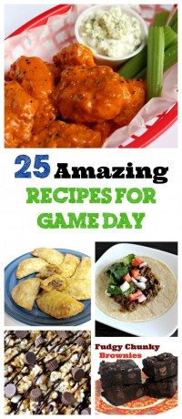 5 Amazing Recipes for Game Day