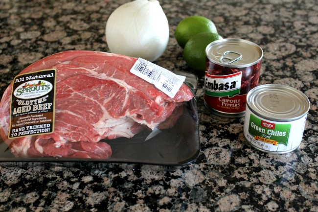 Beef Barbacoa ingredients