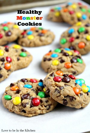 Healthy Monster Cookies