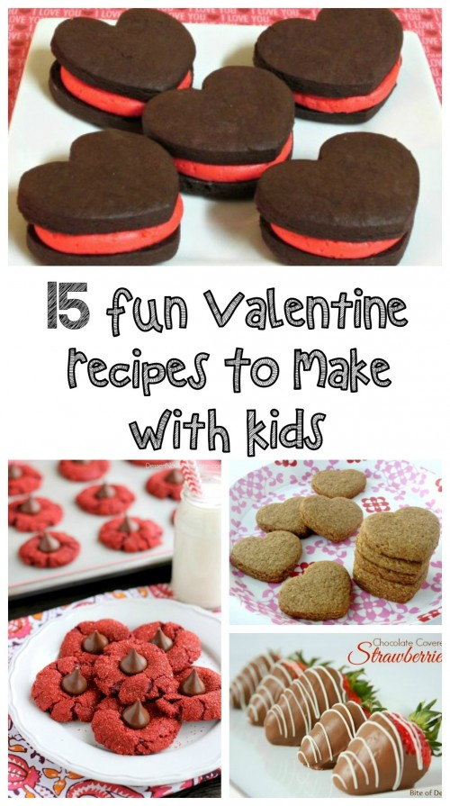 15 Fun Valentine Recipes To Make With Kids