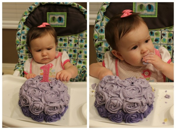 Carina's 1st birthday cake
