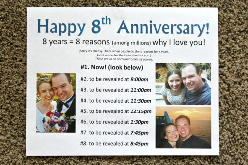 Anniversary Date Idea