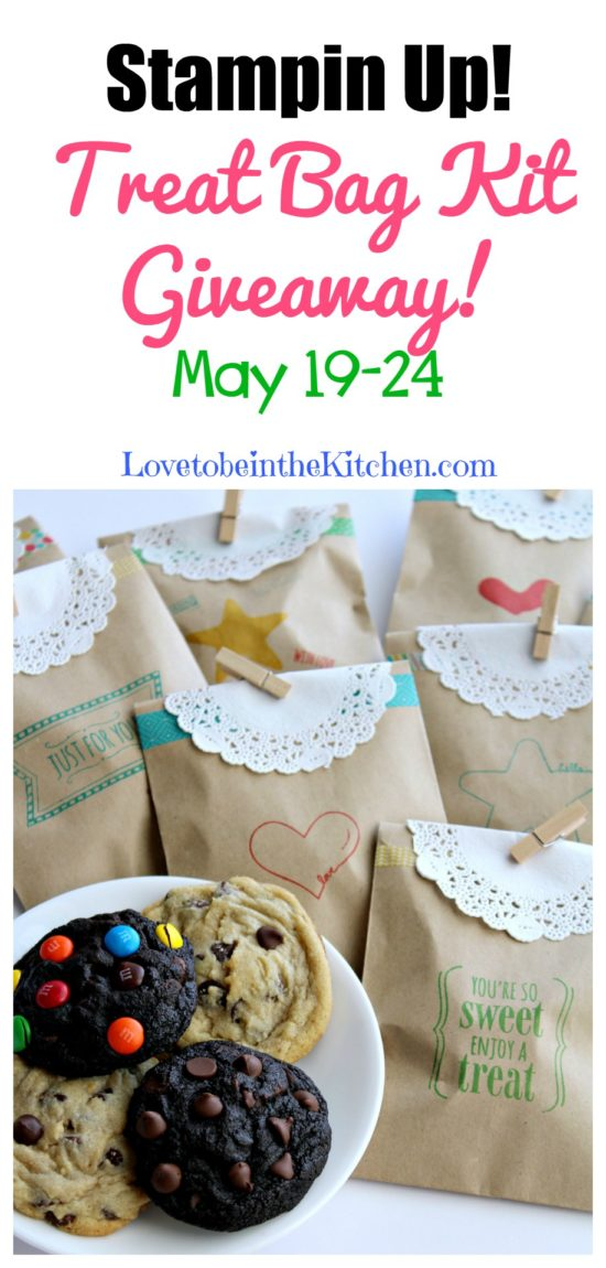 Stampin' Up! Treat Bag Kit Giveaway!