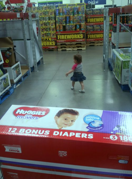 Huggies Little Movers Sam's Club