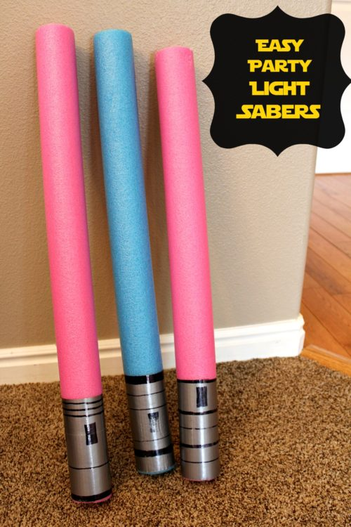 Easy Party Light Sabers