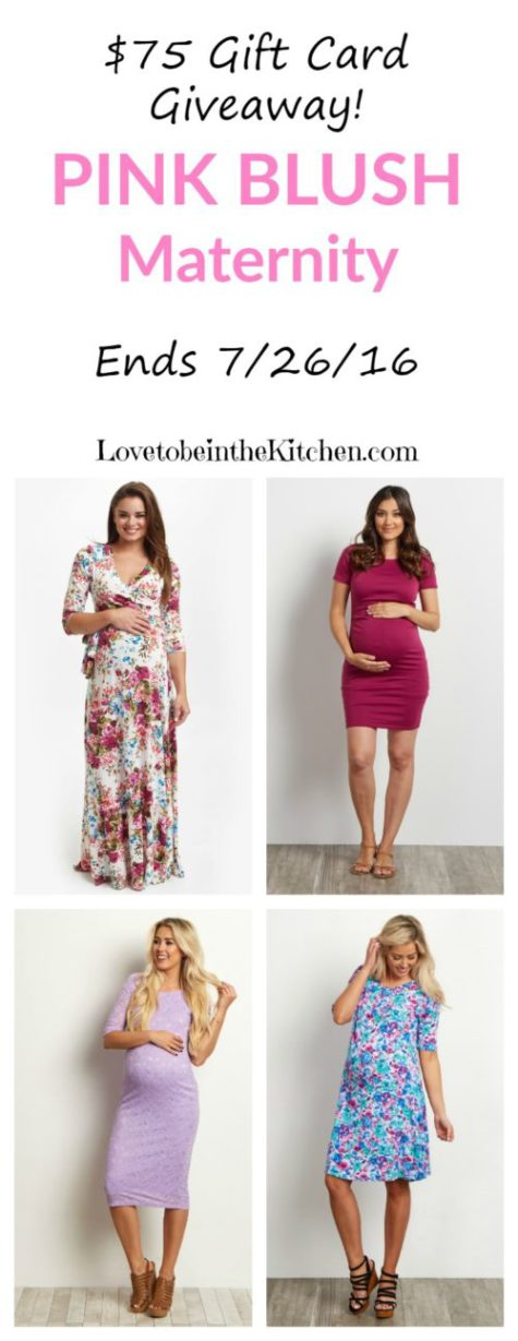 Pink Blush Maternity Giveaway! #giveaway