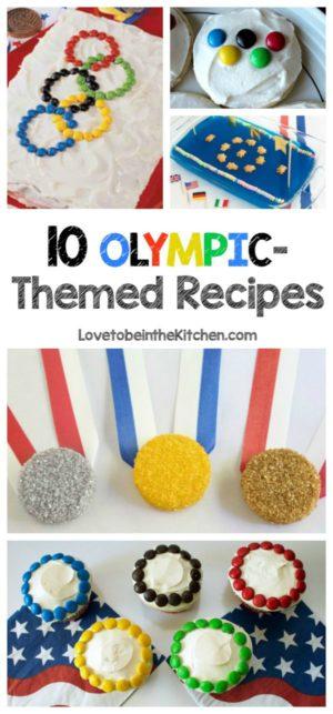 10 Olympic-Themed Recipes