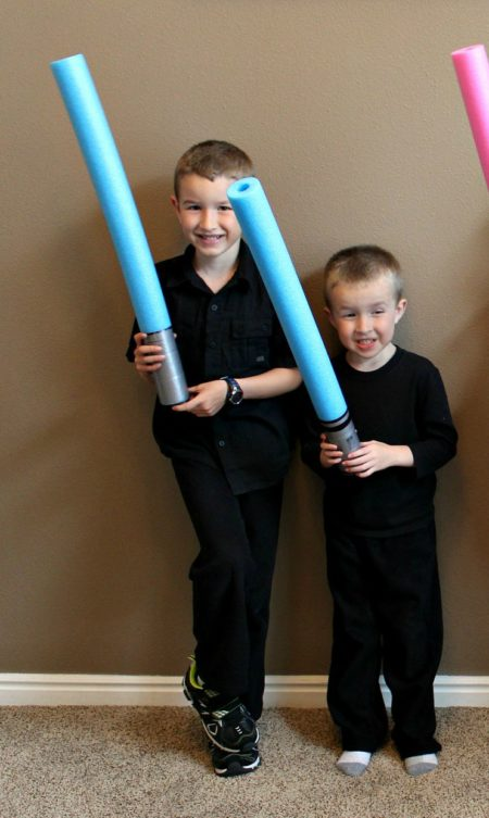 Light Saber Pool Noodles