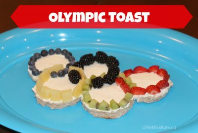 Olympic Toast from Little Miss Kate